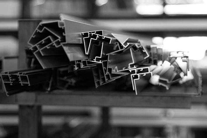 Fusteria d'alumini amb Aluminis SC i l'aval de Technal