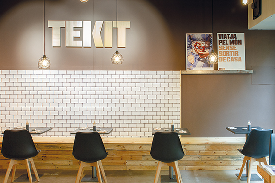 Restaurante Teikit para Flash food Sant Cugat