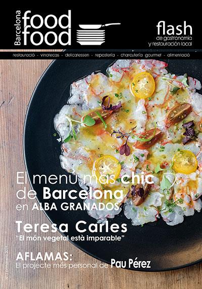 Portada Revista Flash Food Barcelona